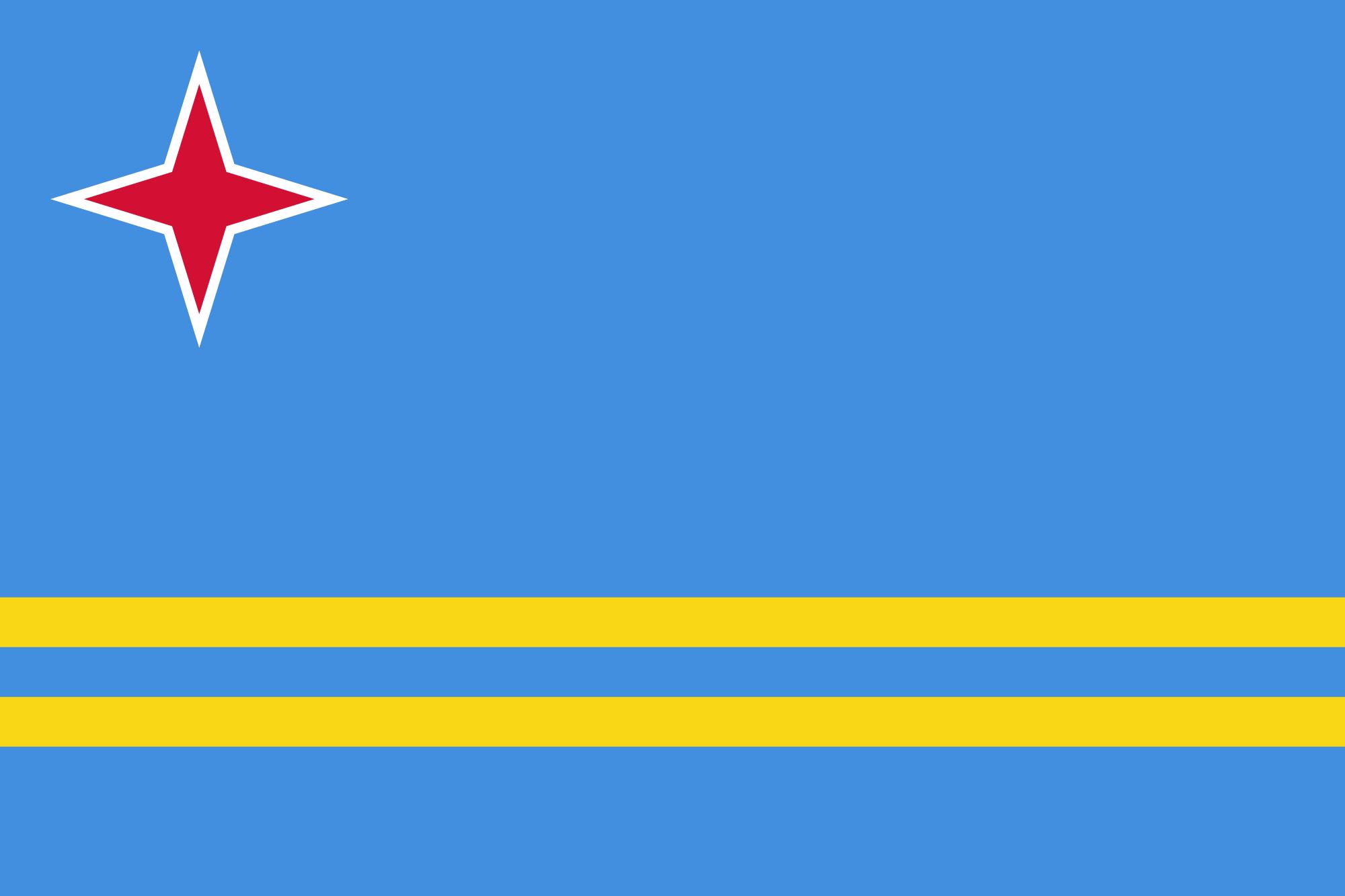 Aruban Flag